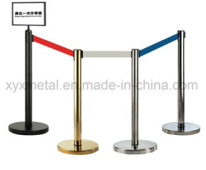Stainless Steel Stanchion Crowd Control Retractable Belt Barrier pictures & photos