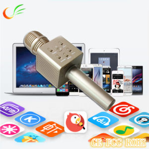 Q7 Bluetooth Wireless Mini Microphone for Handhold Karaoke Player pictures & photos