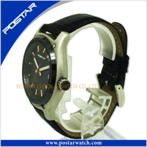 Quartz Watch for Men with Genuine Leather Band pictures & photos