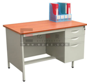 Popular Wooden Teacher Desk Table with Two Drawers pictures & photos