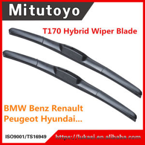 Wholesale Hybrid Wiper Blade Gum Brush Auto Double Windshield Wiper pictures & photos