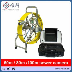 Sewer Drain Pipe Video Inspection Camera with 60m Cable pictures & photos