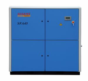 Sfa45kw/60HP August Stationary Air Cooled Screw Compressor pictures & photos