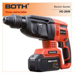 Cordless Power Tools 26mm Cordless Rotary Hammer (HD2609) pictures & photos