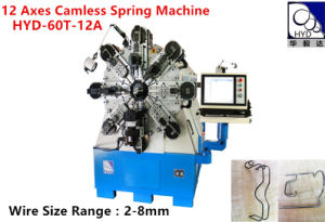 Multi-Functional 12 Axes Computer Spring Machine pictures & photos
