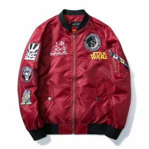 Men Baseball Jacket Bomber Jackets Flight Jacket Embroidery Varsity Jacket Satin pictures & photos
