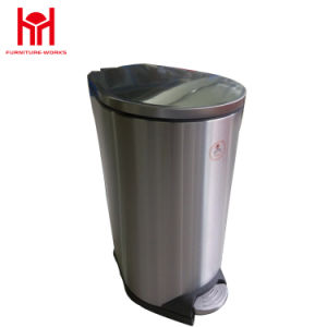 High Quality Manufacturer Stainless Steel Trash Bin pictures & photos