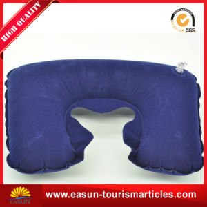 Inflatable Travel Neck Pillow Airplane pictures & photos