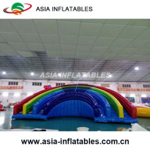 Inflatable The Colours of The Rainbow Slide Combo pictures & photos