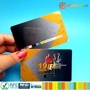 Custom PVC smart RFID 13.56MHz MIFARE Plus SE 1K Card pictures & photos