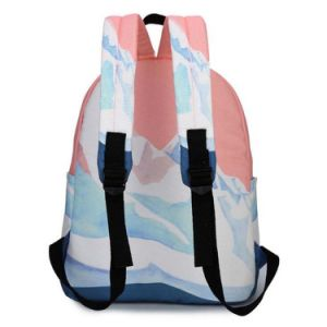 Promotional Fashion Leisure Girls Canvas Backpack School Bag pictures & photos