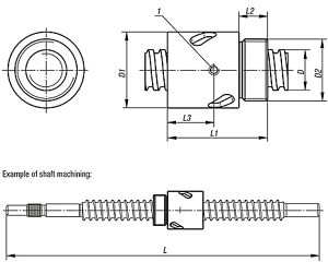 Stainless Steel Liner Ball Screw Manufacturer pictures & photos