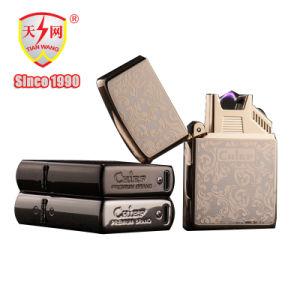 Low-Carbon Fashion Electric Arc Rechargeable Cigarette Windproof Lighter pictures & photos