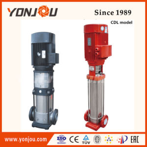 Multistage Vertical Pipe Pump, Fire Fighting Jockey Pump, Stainless Steel High Pressure Water Pump pictures & photos