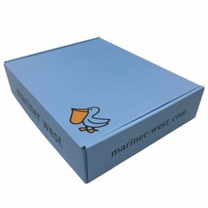 Custom Made Offset Print Corrugated Packing Box pictures & photos
