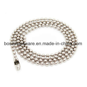 Stainless Steel Bead Chain Necklcae pictures & photos