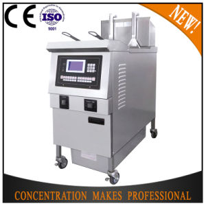 Ofg-H321L High Quality Used Oil Filter Automatical Open Deep Fryer pictures & photos