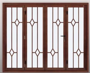 Professional Double Glazing Aluminum Sliding Doors/Glass Sliding Door (pH-6602) pictures & photos