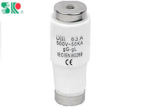Low Voltage Screw Bottle Type Fuse Links Diii 63A 500V pictures & photos