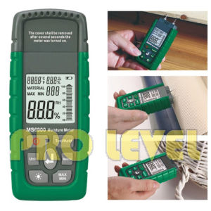 Professional Accuract Electronic Moisture Tester (MS6900) pictures & photos