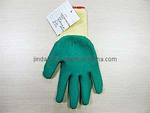 Polyester Lining With Green Latex Coating Crinkle Types