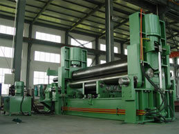 Hydraulic 3 Roller Sheet Rolling Machine
