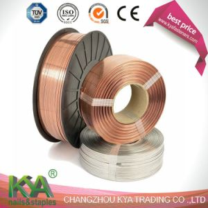 103023c25 Copper Flat Stitching Wire pictures & photos