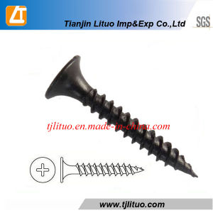 Black Screws for Drywall Material C1022A pictures & photos