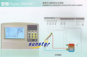 Controller for Solar Systems (SR618) pictures & photos
