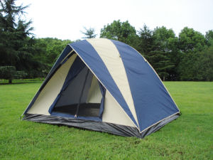2-4 Person American Camping Tent for Camping (MW4010) pictures & photos