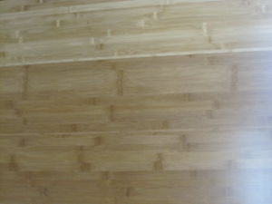 Horizontal Bamboo Flooring With Carbonized Color