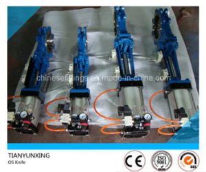 Outside Screw (OS) Lug Pneumatic Knife Gate Valves pictures & photos