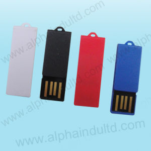 Paper Clip Custom Mini USB Flash Drive with Logo (ALP-075U) pictures & photos