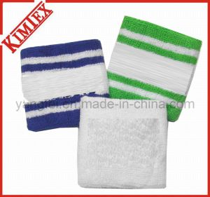 Whoesales Promotion Cotton Terry Spandex Wristband pictures & photos