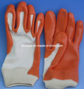 Latex Working Industrial Glove Rubber Glove for Mining pictures & photos