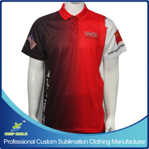 Custom Made Sublimated Motorcycle Staff Uniform Polo Shirts pictures & photos