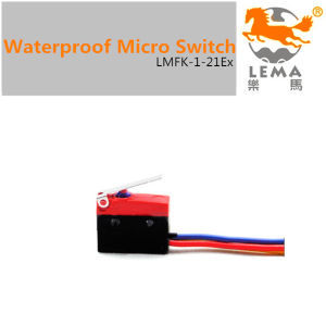 5A 250V IP65 Waterproof Micro Switch Lmfk-1-21ex pictures & photos