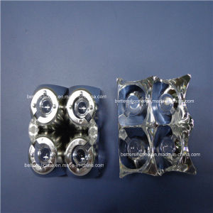 Vacuum Evaporating Plating Aluminum LED Light Cover pictures & photos