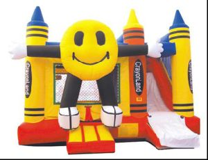 Inflatable Smiling Face Slide Combo (CZH-1027)