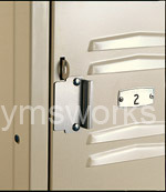 Locker with Hasp