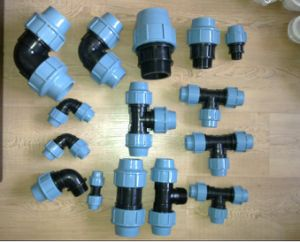 PP Compression Pipe Fitting for Water Suppy, Irrigation pictures & photos
