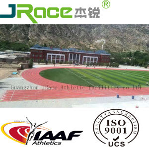 Health&Environmental Protection PU Athletic Rubber Running Track pictures & photos