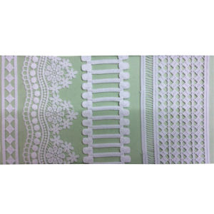 Fashion 100% Polyester Garment Embroidery Trimming Lace (1767) pictures & photos