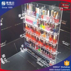 Crystal Clear Acrylic Nailpolish Organizer Wholesale pictures & photos