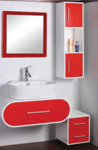 PVC Modern Bathroom Cabinet Furniture (C-6069) pictures & photos