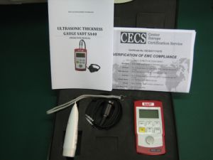 Portable Ultrasonic Wall Thickness Gauge (SA40) with High Accuracy pictures & photos