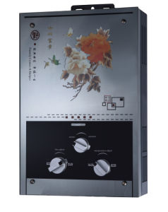 Glass Panel Gas Water Heater with Zero Water Pressure Start for Optional
