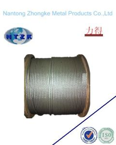 Ungalvanized Steel Wire Rope 6*24+7FC, Chinese Steel Wire Rope pictures & photos