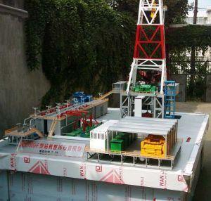 Petrium Drilling Machine Model, Industrial Organization Model, Demonstrational Model, 3D Model Industrial