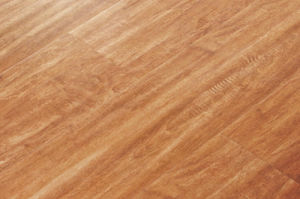 Crystal Surface Flat Laminated Wood Flooring (HDF) -Ly101 pictures & photos